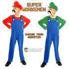 Super Workmen Brothers - Kids Fancy Dress Outfits - Assorted Sizes