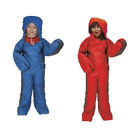 Kids 3 Season Motion Sac Camping Sleeping Bag Suit Fishing Festival Trek Onsie