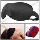 Travel 3D Sleep Eye Mask Sleeping Soft Cover Shade Plane Blindfold
