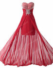 Stunning Wedding Bridesmaid Cocktail Formal Evening Party Prom Gowns Long Dress
