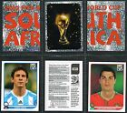PANINI - World Cup 2010 Football Stickers #481 to #540 (£0.99 each) Brazil etc