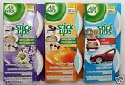 24 Air Wick Stick Ups Air Freshener Small Spaces & Car Most Convenient Ever! ❀❤☀