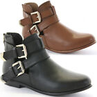 WOMENS LADIES ANKLE CHELSEA FLAT LOW HEEL VINTAGE RETRO WINTER BOOTS SIZE