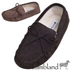 UNISEX GENUINE SUEDE SOFT SUEDE SOLED MOCCASINS IN CAMEL SIZES UK 3 - 13