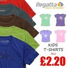 Regatta Boys Girls Kids Casual Summer Beach T-Shirts