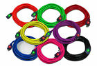 50Ft 12 Gauge 12/3 SJTW Outdoor Lighted Extension Cord Pick from 8 Colors UL/cUL