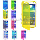 Flip Soft TPU Gel Silicone Clear Cover Case For Samsung Galaxy S2/3/4/5/Note 2