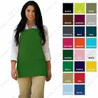 DayStar 200 Three Pocket Bib Apron w/3 Pockets - Made In USA