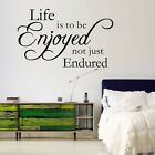 Wholesale Quote Words Saying DIY Art Vinyl Wall Sticker Decal Home Kids Decor