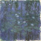 Blue Water Lilies Claude Monet 1919 Art Photo /Poster Reproduction Gift Idea