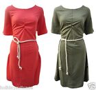 NEW LADIES WOMANS BEACH HOLIDAY SUN DRESS PLUS SIZE 12 TO 28 UK 2 COLOURS