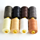 109yrd x1mm Leather Sewing Waxed Thread Leather Craft Repair Shoes Upholstery UK