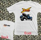 New RARE Motor Can Am BRP X TEAM SPYDER RACING LOGO  White T Shirt All Size