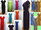 XL 2X 3X PLUS SIZE Women Long Maxi Summer Beach Sundress/Sexy Dress