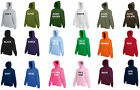 PLAIN HOODIE HOODY HOODED SWEATSHIRT