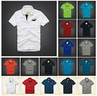 New Hollister by Abercrombie Men SCRIPPS PIER POLO Shirt Muscle Fit Color size
