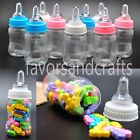 Внешний вид - 12 PCS Fillable JUMBO Bottles for Baby Shower Favors Blue Pink Party Decorations