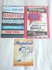 TO STEPDAD ON FATHER'S DAY CARD 3D  TRADITIONAL CUTE ME TO YOU FATHERS DAY CARD
