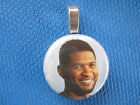 Usher  the Voice Favorite Judge Ray  handmade changeable  Insert  Necklace