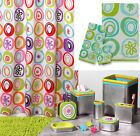 13-Pc All That Jazz Cool 60's Retro Style Bathroom Collection Bath Accessories