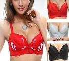 New Super Boost Closure A B Cup Front Push Up Bra Gel Padded Side Support Plunge