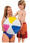 2 x INFLATABLE BEACH BALL LARGE MEDIUM SMALL 3 SIZES SWIMMING POOL PARTY NEW