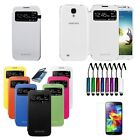 New PU Leather Smart Flip S-Win Case Cover Protector For SAMSUNG GALAXY S4 i9500