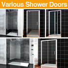 Bifold pivot walk in wet room sliding shower door Enclosure hinge glass Cubicle