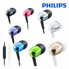 PHILIPS SHE3905 In-Ear Headphones with MIC for Mobile Android Samsung iPhone