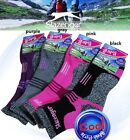 4Pairs Slazenger COOLMAX womens Hiking/Climbing/Outdoor Sports Socks coolfile