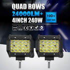"""32""""inch 300W COMBO LED LIGHT BAR OFFROAD DRIVING LAMP WORK SUV ATV CAR 4WD BOAT"""
