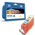 COMPATIBLE CANON BCI-3eY / BCI-3Y YELLOW SINGLE PRINTER INK CARTRIDGE