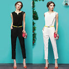 2014 Women Bodycon Bandage Dress Long Pants Sexy Rompers Party Jumper Jumpsuit