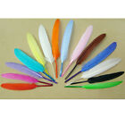 50/100Pcs Long 10cm to 15cm Goose Quill Feathers Art Craft Card Making Decor DIY