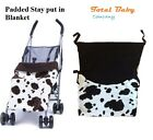 Stay put blanket for pram or buggy
