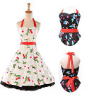 Retro Swing Floral *Vintage 50s 60s Rockabilly Pin-Up * Evening Prom Party Dress