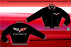 Chevy Corvette Officially Licensed Lightweight Nylon Ripstop Black Jacket-JH