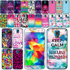 For Samsung Galaxy S5 G900 I9600 Art Design Vinyl Decal Sticker Skin Phone Cover