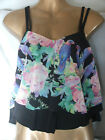 PRIMARK TWIN LAYER CROP TROPICAL PARROT BIRD DESIGN TOP COVER-UP-BNWT