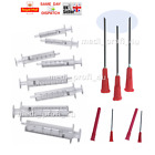 2ml 5ml 10ml 20ml Syringe + BLUNT NEEDLE 18G 1.2x40 1,5 INCH Choice Qty
