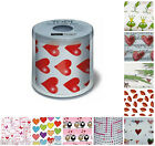 Love Hearts Romantic Novelty Gift Toilet Roll Loo Paper Anniversary Engagement