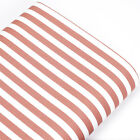 FQ - 8.5mm STRIPE VINTAGE PIRATE CANDY RETRO 100% Cotton Fabric Dress Craft VK37