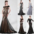 Long Maxi Bridesmaid Evening Formal Party Ball Gown Prom Cocktail Wedding Dress