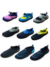 Boys Girls Mens Womens Aqua Beach Surf Water Neoprene Shoes Wetsuit Boots Swarm