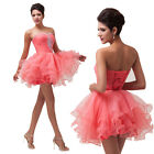 Striking Womens Bridesmaid Prom Formal Evening Cocktail Party Costume Mini Dress