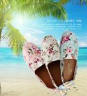 Fashion Floral Female Shoes Single Shoes Leisure Canvas Shoes Flat Heel Shoes