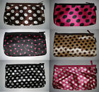 Travel Wash Toiletry Make Up Cosmetic Ladies Women Bag Pouch with Mirror