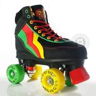 Rio Roller Guava Kids/Adult Quad Roller Skates - Black/Red/Green/Yellow UK Sizes