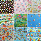 PER half metres CHILDRENS FABRICS  100% cotton VARIETY OF PATTERNS