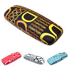 5 Colors Letters Pattern Design Lron Eyeglass Glasses Box Eyewear Case